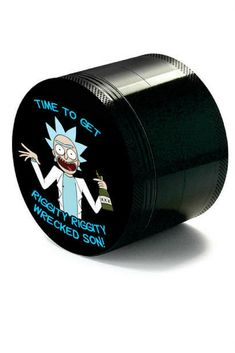 Get riggity riggity wrecked with this premium herb grinder engineered from Air Craft Aluminum. Rick and Morty gifts.