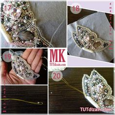 МК по вышивке бабочки