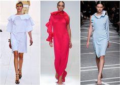 Tendencias según Vogue- Paris, el Plisado, versión  Chloe, Stella McCartney y discreto en el aire a Rochas, El plisado es uno de los efectos principales del verano de 2013.