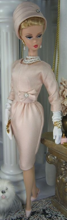 Pink Opal for Silkstone Barbie on Etsy now « Matisse Fashions