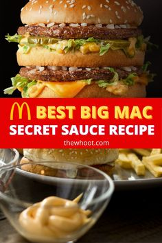 Mcdonald's Big Mac Sauce Recipe, Savory Sauce Recipe, Homemade Big Mac Sauce, Secret Sauce Recipe, Best Burger Sauce, Burger Sauces Recipe, Sauce Recipes, Cat Recipes, Sandwich Recipes