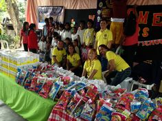 Baggao Lions Club (Philippnes) | Lions club members celebrated its birthday at an underprivileged school.