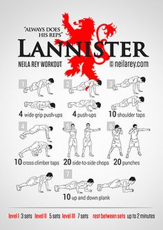 Lanister Workout
