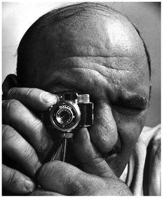 Andreas Feininger,- Self-portrait, Mycro