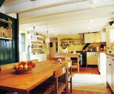Irish country style kitchen.  Looks about right to me.
