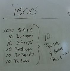 WOD Thursday 7-26-2012 | CrossFit of Marlboro MA