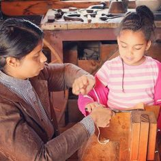 Hands on learning is what we love best! Pictured here is one of our costumed Historical Interpreters with an eager camper to learn about woodcarving at #ScarboroughMuseum.  #handson #education #learning #museums #history #TOhistory #Toronto #Victorian #museum #woodworking #crafting #kids #children #camp #museums #handsonlearning #historyrocks #camp
