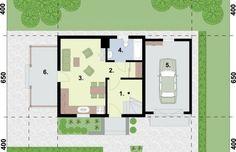 Projekt domu wielorodzinnego ORLEAN 5 dom letniskowy z poddaszem - rzut parteru House Plans, Floor Plans, How To Plan, Architecture, House 2, Homes, Arquitetura, House Plans Design, House Floor Plans
