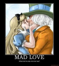 mad hatter and alice relationship test