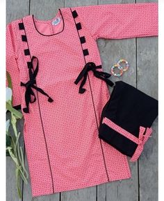Girls Frock Design, Fancy Dress Design, Stylish Dress Designs, Stylish Dress Book, Stylish Dresses For Girls, Simple Dress Casual, Girls Dresses Sewing, Simple Pakistani Dresses, Flannel Fashion