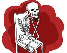 Oda a la muerte. Ilustración Carolina Castañeda