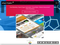 iFactory is a full-service digital and creative agency delivering Webdesign, eCommerce, Internet Marketing & Systems Integration.