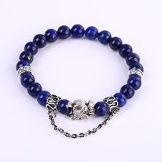 New style Fashion Jewelry Charm Cuff Lapis Lazuli Men Bracelets & Bangles for Women Kids Girl Best Gift for a friend 3 Styles