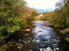 River Ericht in Blairgowrie, Perthshire, Scotland   Europe a la Carte Travel Blog