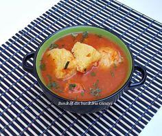 Supa de rosii cu taitei de casa - Bunătăți din bucătăria Gicuței
