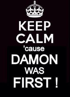 The Vampire Diaries, yep he just made her forget. She really met Damon first