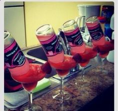 Bachelorette Party Drink http://@Kara Morehouse Morehouse Roberts we could have these at the lake house for the Bach Party! Sooo cute