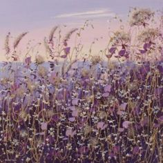 Purple Haze from Mary Shaw available now from Evergreen Art Cafe