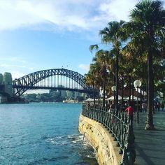 Out for lunch. Back in Sydney. #sydney #sydneyharbour #sydneyharbourbridge #australia #amazing #city #bridge #harbour #reiseblog #weltreise #travelblog #worldtrip #enjoylife #goodlife by kallifornien http://ift.tt/1NRMbNv