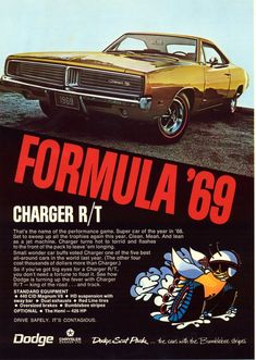 1969 Charger ad