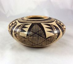 Traditionally hand crafted Hopi pottery by Rachel Healing Nampeyo, 1900-1985.
