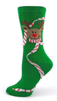 Rudolph Christmas Socks