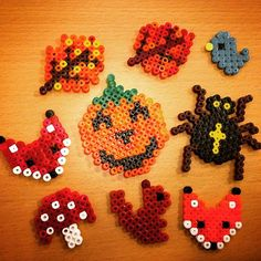 Autumn hama beads by kreatid