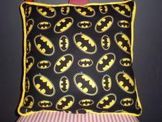 FINAL MARKDOWN Batman Pillows by GoughGoodies on Etsy