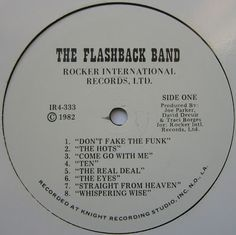 Funk-Disco-Soul-Groove-Rap: THE FLASHBACK BAND [THE REAL DEAL].