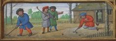 Daily History Picture: Medieval Golf