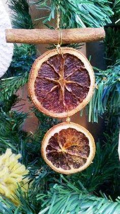decorazioni natalizie con arance e cannella - Cerca con Google