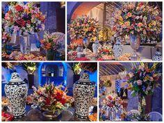 Arranjos Florais | Arranjos coloridos | Arrangement Flowers | Tropical Flowers | Colorful Wedding | Inesquecível Casamento | Casamento | Wedding | Decoração | Decoração de Casamento | Decor | Wedding Decor | Wedding Decoration | Decoração da cerimônia | Ceremony Decoration