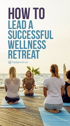 Yoga and wellness retreats are all the rage. If you're looking to organize one yourself, these tips will help you lead a memorable and successful retreat. retreat How to Lead Your Own Successful Wellness Retreat (Tips from a Pro) Health Retreat, Yoga Retreat, Mindfulness Retreat, Retreat House, Yoga Meditation, Yoga Inspiration, Yoga Fitness, Relaxing Yoga, Restorative Yoga