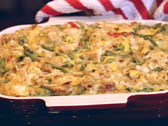 Get this all-star, easy-to-follow Chicken and Rice Casserole recipe from Paula Deen