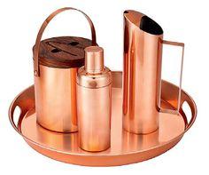 Trendspotting: Copper-coloured barware