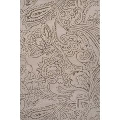 JaipurLiving Timeless By Jennifer Adams Hand Tufted Wool Ivory/White Area Rug Rug Size: