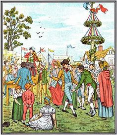 May Day - Old and New: Maypole Festivities on May Day