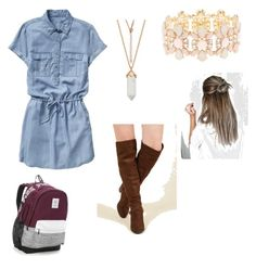 """High school"" by ashlyn-simpson on Polyvore featuring beauty, Gap, Madden Girl, Charlotte Russe and Victoria's Secret"