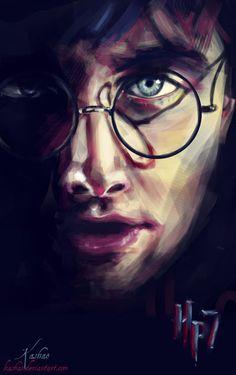 Harry Potter. Gorgeous art. Lonely determination.