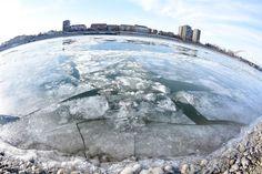 Frozen Danube, Novi Sad, 09-01-2017