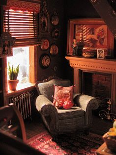 cozy...It's almost hard to believe these are miniatures