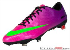Nike Mercurial Vapor IX FG Soccer Cleats - Fireberry with Electric Green...$202.49