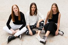 Girls for Bricks Magazine by Takeuchis - Models: Victória Schons/Natália Mallmann/Jaqueline Datsch