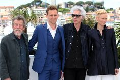 "Cast of ""Only Lovers Left Alive"" at the Cannes Film Festival Photo call"