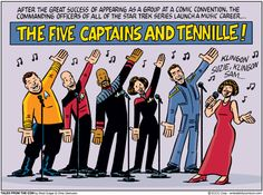 "A New Enterprise.  (Emerald City Comicon: ""Tales from the Con"" by Brad Guigar & Chris Giarrusso)"