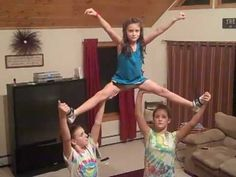 Stunts for 3 People