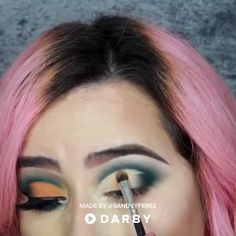 Cut Crease Make Up Tutorial - Click to SHOP this Look #beauty #makeup #tutorial #holiday #video #darby #darbystar