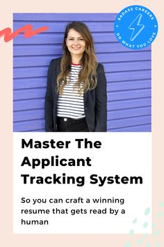 Do you ever wonder whether your job application actually gets seen by the recruiter? There is a 75% (!) chance that it doesn't because the Applicant Tracking System (ATS) finds it irrelevant. Check out this blog to learn which strategies you can use to make your resume robot friendly. 🤖  #badasscareers #applicanttrackingsystem #applicanttrackingsystemresume #applicanttrackingsoftware #resume #careeradvice Tracking Software, Tracking System, Get Reading, Career Advice, Robot, Resume, Make It Yourself, Learning, Check