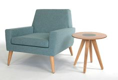 I love this lounge chair, and the whole Assemblyroom Finsbury collection!