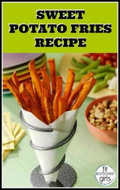 The  best healthy sweet potato fries recipe you'll ever find! No, seriously.   Fit Bottomed Girls